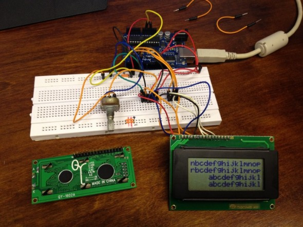 Testing components - Display